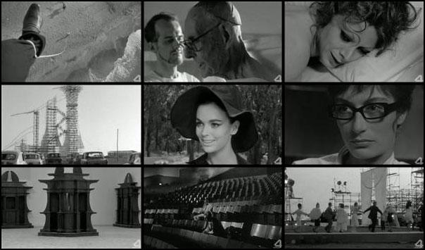 8½ 1963 Federico Fellini Marcello Mastroianni Claudia Cardinale Anouk Aimée