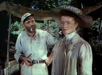 African Queen 1951 John Huston Humphrey Bogart Katharine Hepburn
