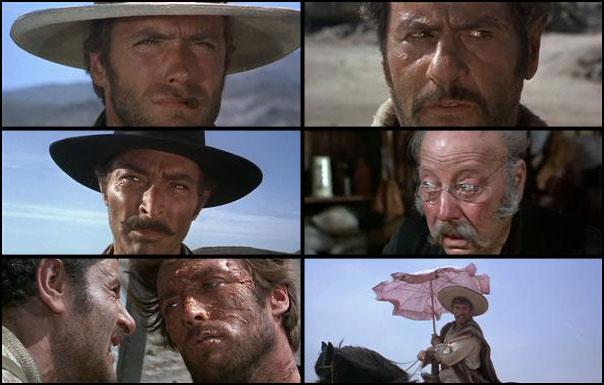 Il buono, il brutto, il cattivo 1966 Sergio Leone Eli Wallach Clint Eastwood Lee Van Cleef