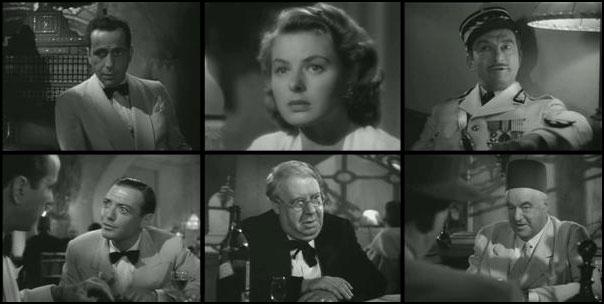 Casablanca 1942 Michael Curtiz Humphrey Bogart Ingrid Bergman