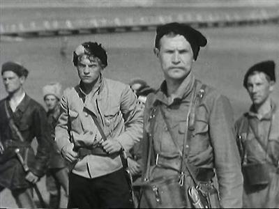 Чапаев 1934 Братья Васильевы Борис Бабочкин