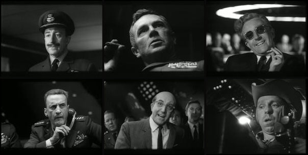 Dr. Strangelove 1964 Stanley Kubrick Peter Sellers George C. Scott Sterling Hayden