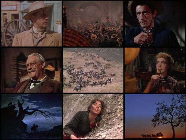Duel in the Sun 1946 King Vidor Joseph Cotten Gregory Peck Lilian Gish