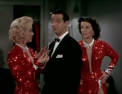 Gentlemen Prefer Blondes 1953 Howard Hawks Jane Russell Marilyn Monroe