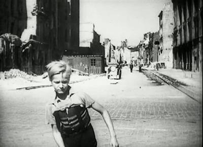 Germania anno zero 1948 Roberto Rossellini