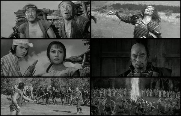 Kakushi-toride no san-akunin 1958 Akira Kurosawa Toshiro Mifune Takashi Shimura