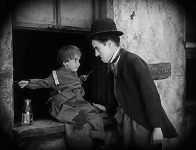Baron Wolf's blog › «The Kid», 1921. Первый полный метр Чарли Чаплина