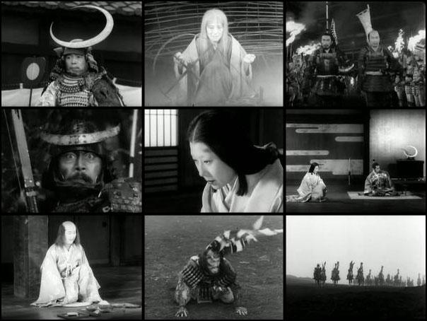 Kumonosu jo1957 Akira Kurosawa Toshiro Mifune Takashi Shimura
