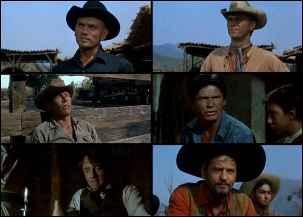Magnificent Seven 1960 John Sturges Akira Kurosawa Steve McQueen Eli Wallach Charles Bronson James Coburn