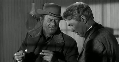 Man Who Shot Liberty Valance 1962 John Ford John Wayne James Stewart  Vera Miles Lee Marvin John Carradine