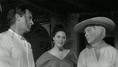 Night of the Iguana 1964 John Huston Richard Burton Ava Gardner Deborah Kerr
