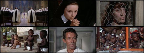 Nun's Story 1959 Fred Zinnemann Audrey Hepburn Peter Finch