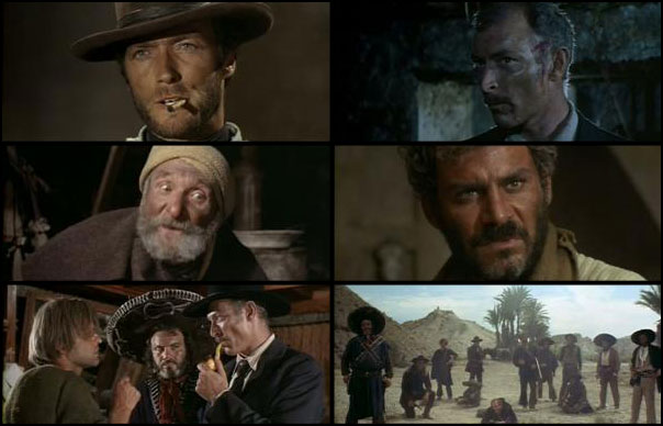 Per qualche dollaro in piu 1965 Sergio Leone Clint Eastwood Lee Van Cleef Klaus Kinski
