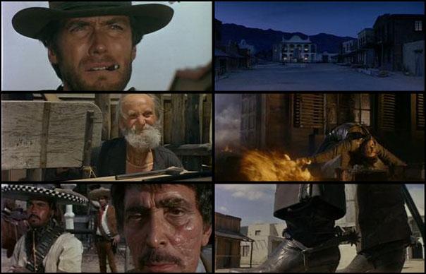 Per un pugno di dollari 1964 Sergio Leone Clint Eastwood