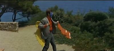Pierrot le fou 1965 Jean-Luc Godard Jean-Paul Belmondo Samuel Fuller