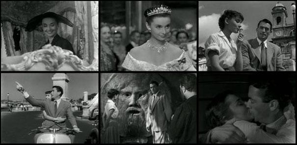 Roman Holiday 1953 William Wyler Gregory Peck Audrey Hepburn