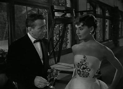 Sabrina 1954 Billy Wilder Humphrey Bogart Audrey Hepburn William Holden