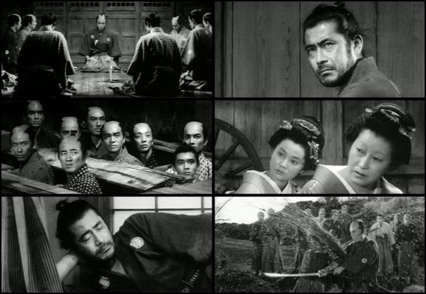 Sanjuro 1952 Akira Kurosawa takashi shimura toshiro mifune