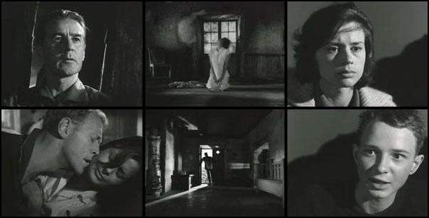 Sasom i en spegel 1961 Ingmar Bergman Harriet Andersson Gunnar Björnstrand Max von Sydow