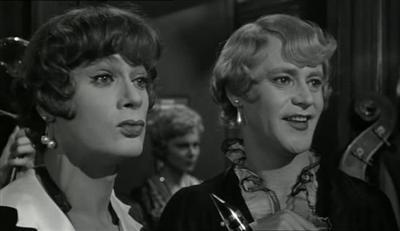 Досуги мыслей - «В джазе только девушки», 1959. Эксцентрическая ...