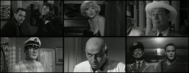 Some Like It Hot 1959 Billy Wilder Marilyn Monroe Tony Curtis Jack Lemmon