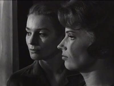 Tystnaden 1963 Ingmar Bergman Ingrid Thulin Gunnel Lindblom